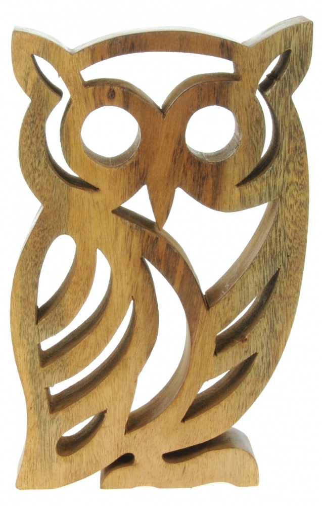 Namesakes Wholesale Gifts Hand Carved Owl Pack Size 5